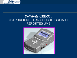 Cellebrite's New UME-36 Supporting Cingular's Point Sale