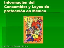 Informacion del Consumidor y Leyes de proteccion en …