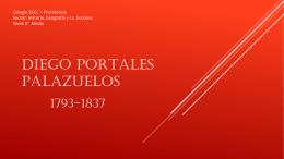 DIEGO PORTALES PALAZUELOS