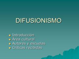 DIFUSIONISMO