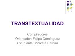 TRANSTEXTUALIDAD