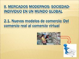 DEL COMERCIO REAL AL COMERCIO VIRTUAL