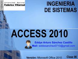 ACCESS 2007 - CENEINNOVACION SAC
