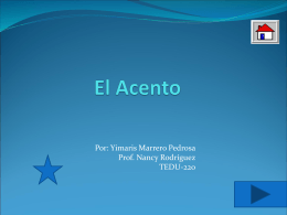El Acento - Yimaris's Blog | Just another WordPress.com …