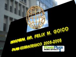 Diapositiva 1 - HOSPITAL DR. FELIX MARIA GOICO