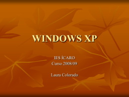 WINDOWS XP - laclasedelaura