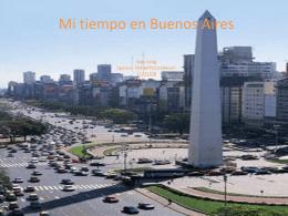 Mi tiempo en Buenos Aires Alex Selig Spanish 204 APPLES