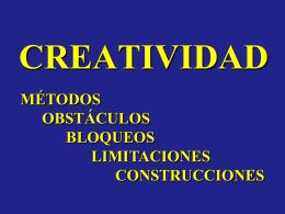 METODOS CREATIVOS