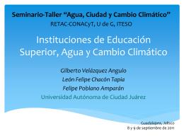 Indicadores Ambientales de universidades en el mundo