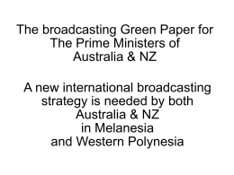 A new international broadcasting strategy is needed by