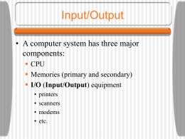 Computer Systems Organization