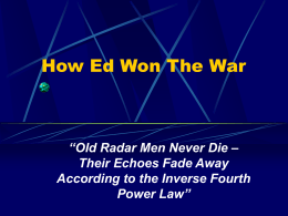 How Ed Won The War - Chapter 70 (Ottawa, ON)