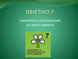OBJETIVO 7: