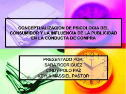 CONCEPTUALIZACION DE PSICOLOGIA DEL …