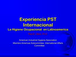 Impacto de la Higiene Ocupacional en Latinoamerica