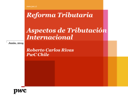 Reforma Tributaria proyecto ley