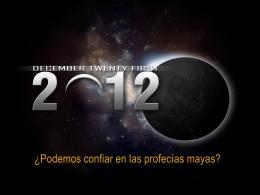 21 de Diciembre 2012