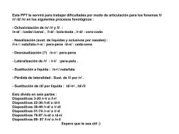 Diapositiva 1 - ARASAAC: Aragonese Portal of …