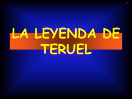 LA LEYENDA DE TERUEL - Bienvenidos a la web oficial del C