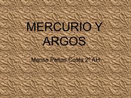 MERCURIO Y ARGOS