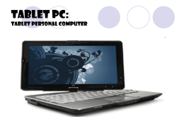 Tablet PC: