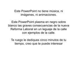 LA REFORMA LABORAL - El Intercambiador