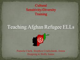 Afghan Refugee ELLs