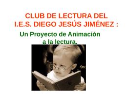 EL CLUB UNIVERSITARIO DE LECTURA DEL CEPLI