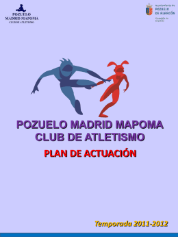 POZUELO MADRID MAPOMA CLUB DE ATLETISMO