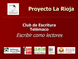 Proyecto La Rioja