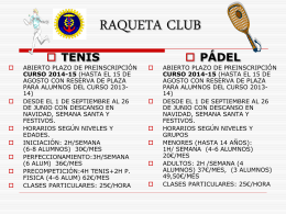 RAQUETA CLUB