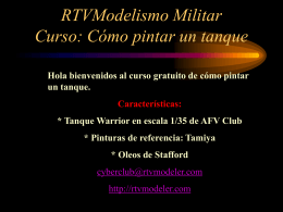 Warrior de AFV - RTV/Modelismo Militar