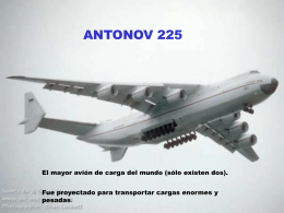 Antonov 225 - Sitio no disponible en este momento. …