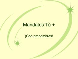 Mandatos T&#250