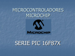 MICROCONTROLADORES MICROCHIP