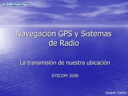 GPS y Sistemas de Radio
