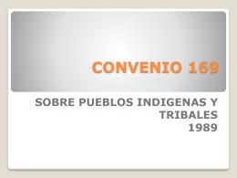 CONVENIO 169 - AVAR