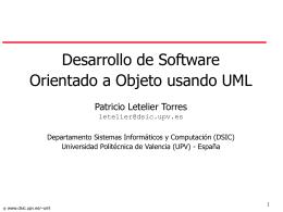 Desarrollo de Software OO usando UML - UT-AGS