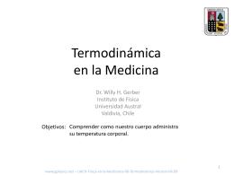 Termodinamica en la Medicina