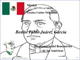 Bicentenario del Benemerito de las Americas