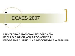 ECAES 2005