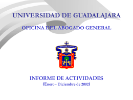 Informe de desarrollo