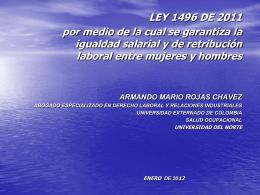 LEY 1010 DE 2006. ACOSO LABORAL