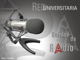RED UNIVERSITARIA - Inicio | VIII Consejo de Rectores