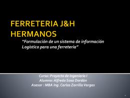FERRETERIA J&H HERMANOS