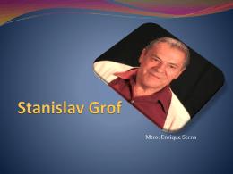 Stanislav Grof - CorrientesPsicologicas2