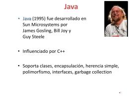 Unidad 1: Java