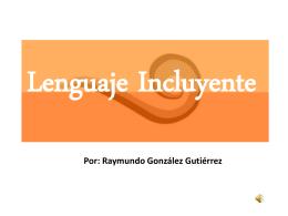 Lenguaje Incluyente - Ciudades Seguras para las Mujeres