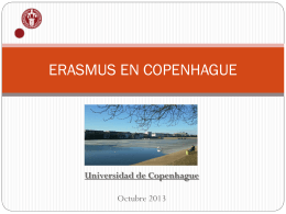 ERASMUS EN COPENHAGUE
