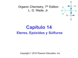 Ethers, Epoxides, and Sulfides